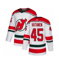Youth Adidas New Jersey Devils #45 Sami Vatanen Authentic White Alternate NHL Jersey