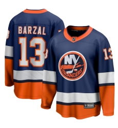 Men's New York Islanders #13 Mathew Barzal Fanatics Branded Orange 2020-21 Special Edition Breakaway Player Jersey