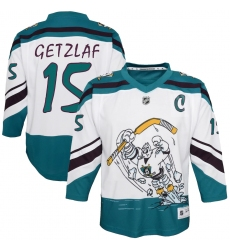 Youth Anaheim Ducks #15 Ryan Getzlaf White 2020-21 Special Edition Replica Player Jersey