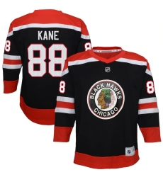Youth Chicago Blackhawks #88 Patrick Kane Black 2020-21 Special Edition Replica Player Jersey