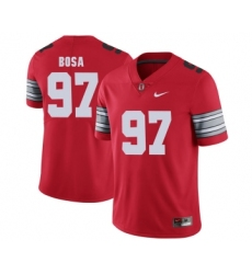 Ohio State Buckeyes 97 Joey Bosa Red 2018 Spring Game College Football Limited Jersey