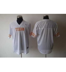 NCAA Texas Longhorns blank White Jersey
