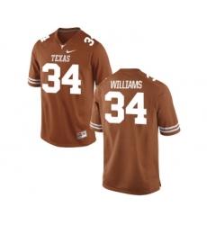 Texas Longhorns 34 Ricky Williams Orange Nike College Jersey