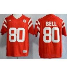 Nebraska Cornhuskers 80 Kenny Bell Red NCAA Jerseys