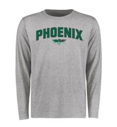 Wisconsin-Green Bay Phoenix Proud Mascot Long Sleeves T-Shirt Ash
