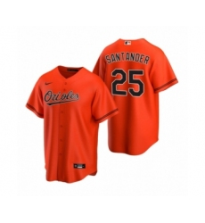 Women's Baltimore Orioles #25 Anthony Santander Nike Orange 2020 Replica Alternate Jersey