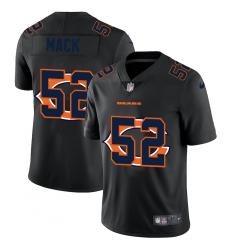 Men's Chicago Bears #52 Khalil Mack Black Nike Black Shadow Edition Limited Jersey