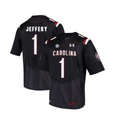 South Carolina Gamecocks 1 Alshon Jeffery Black College Football Jersey