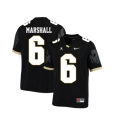 UCF Knights 6 Brandon Marshall Black College Football Jersey