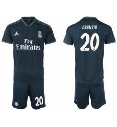 2018-19 Real Madrid 20 ASENSIO Away Soccer Jersey