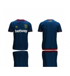 2018-19 West Ham Away Thailand Soccer Jersey