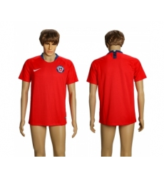 2018-19 Chile Home Thailand Soccer Jersey