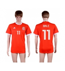 2018-19 Wales 11 BALE Home Thailand Soccer Jersey