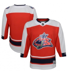 Youth Columbus Blue Jackets Blank Red 2020-21 Special Edition Premier Jersey