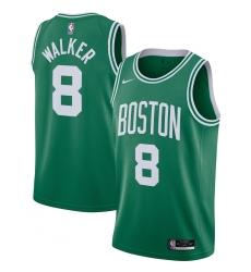Men's Boston Celtics #8 Kemba Walker Nike Kelly Green 2020-21 Swingman Jersey