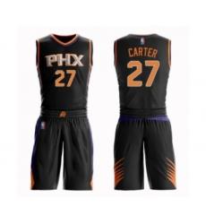 Men's Phoenix Suns #27 Jevon Carter Authentic Black Basketball Suit Jersey - Statement Edition