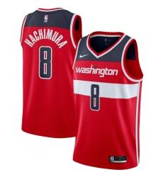 Men's Washington Wizards #8 Rui Hachimura Nike Red 2020-21 Swingman Jersey