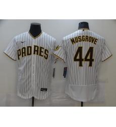Men's Nike San Diego Padres #44 Pedro Avila White Collection Baseball Player Jersey