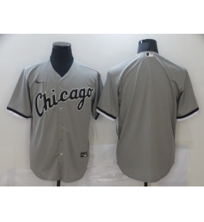 Men's Nike Chicago White Sox Blank Gray Jersey