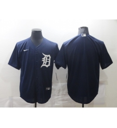 Men's Nike Detroit Tigers Blank Blue Home Baseball Jersey