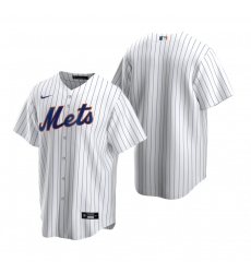 Men's Nike New York Mets Blank White 2020 Home Stitched Baseball Jersey