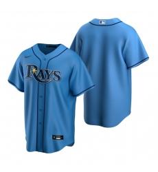 Men's Nike Tampa Bay Rays Blank Light Blue Alternate Stitched Baseball Jersey