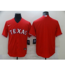 Men's Nike Texas Rangers Blank Red Home Stitched Baseball Jersey