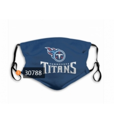 Tennessee Titans Mask-0018