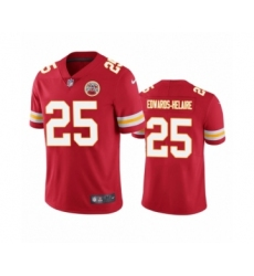 Kansas City Chiefs #25 Clyde Edwards-Helaire Red 2020 NFL Draft Vapor Limited Jersey