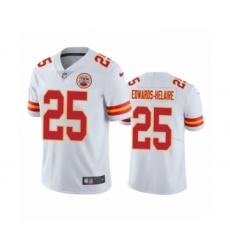 Kansas City Chiefs #25 Clyde Edwards-Helaire White 2020 NFL Draft Vapor Limited Jersey