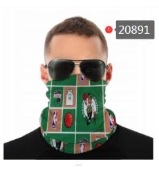 NBA Fashion Headwear Face Scarf Mask-290