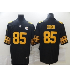 Men's Pittsburgh Steelers #85 Eric Ebron Nike Black Limited Jerseys