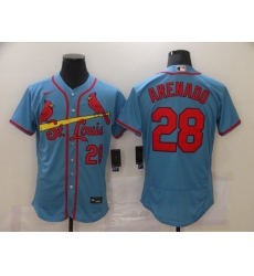Men's St. Louis Cardinals #28 Nolan Arenado Nike Blue Jersey