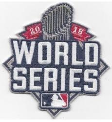 Stitched 2015 World Series Jersey Patch
