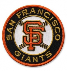 Stitched Baseball San Francisco Giants Road Sleeve Patch