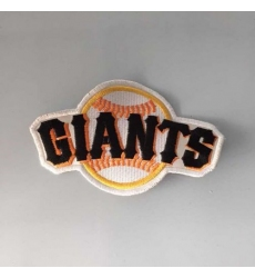 Stitched MLB San Francisco Giants Team Logo Jersey Sleeve Patch