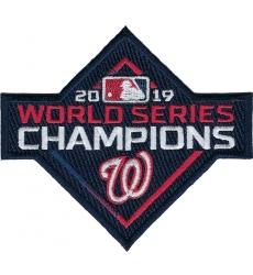 Washington Nationals 2019 World Series Champions Patch