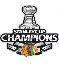 2013 Stanley cup champions patch
