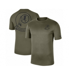 Football Men's Washington Redskins Olive 2019 Salute to Service Sideline Seal Legend Performance T-Shirt