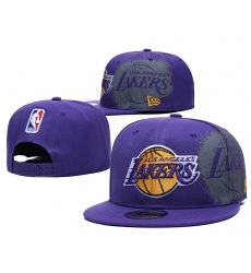 NBA Los Angeles Lakers Hats-012