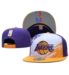NBA Los Angeles Lakers Hats-020
