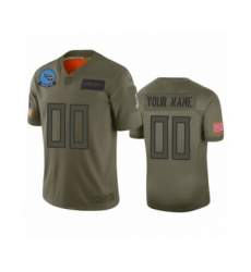 Youth Tennessee Titans Customized Camo 2019 Salute to Service Limited Jersey