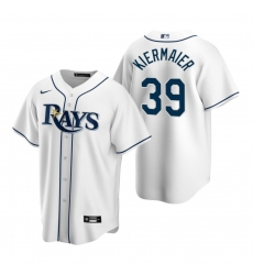 Men's Nike Tampa Bay Rays #39 Kevin Kiermaier White Home Stitched Baseball Jersey