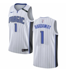 Men's Nike Orlando Magic #1 Penny Hardaway Swingman NBA Jersey - Association Edition