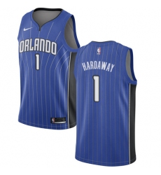 Men's Nike Orlando Magic #1 Penny Hardaway Swingman Royal Blue Road NBA Jersey - Icon Edition