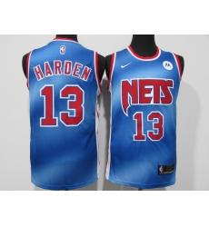 Men's Houston Rockets #13 James Harden Nike Blue Swingman Player Jersey