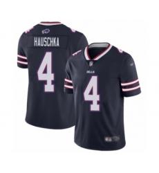 Youth Buffalo Bills #4 Stephen Hauschka Limited Navy Blue Inverted Legend Football Jersey